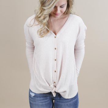 Coeval Tie Bottom Top, Taupe