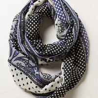 Sancerre Dotted Infinity Scarf