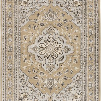 Paramount Classic Area Rug Gray, Brown