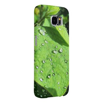 Green Leaf Samsung Galaxy S6 Case Samsung Galaxy S6 Cases