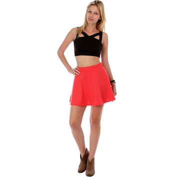 Skater Flared Lyss Loo Mini Skirts