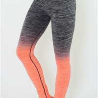 Yoga Leggings - Coral