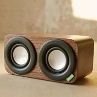 Vers 2Q aptX Walnut Bluetooth Sound System- Brown One