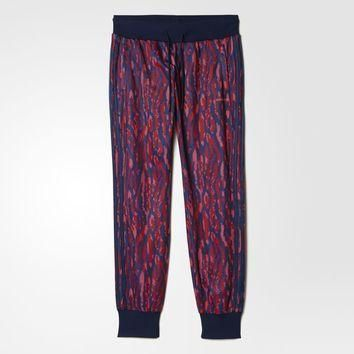 adidas Animal Print Track Pants - Red | adidas US