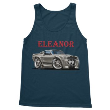 1967 Ford Mustang Shelby GT500 Eleanor Classic Adult Vest Top
