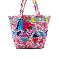 Seafolly Carried Away Oversized Tote in Multi