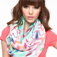 Multi-Colored Infinity Scarf - LoveCulture