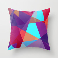 Outdoor Pillow Cover - Modern Geometric Print