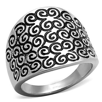 WildKlass Stainless Steel Celtic Ring High Polished (no Plating) Women