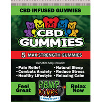Hemp Bomb Cbd Gummies - Pack Of 5