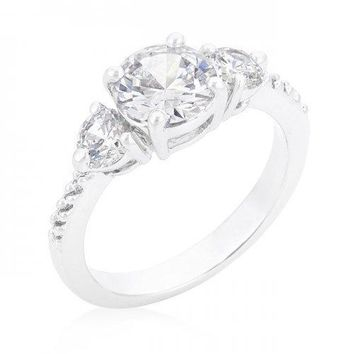 Graduated Engagement Classic Ring (size: 10) (pack of 1 ea)