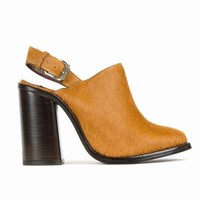 OPENING CEREMONY LUXOR MULE HEELED BUCKLE SHOES - WOMEN - FOOTWEAR - OPENING CEREMONY