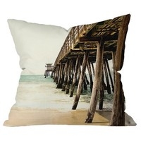 DENY Designs Down By The Pier Throw Pillow