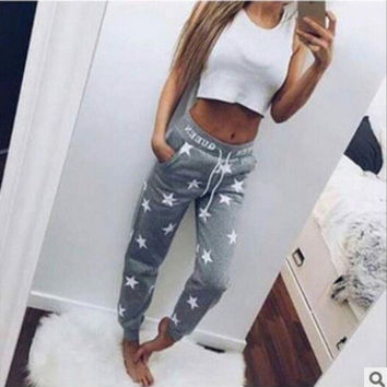 Print Casual Hot Sale Stylish Skinny Pants [9328131908]