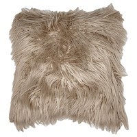 Faux Fur Lamb Throw Pillow 611877060