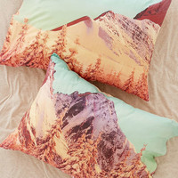 Mountain Landscape Pillowcase Set - Urban Outfitters