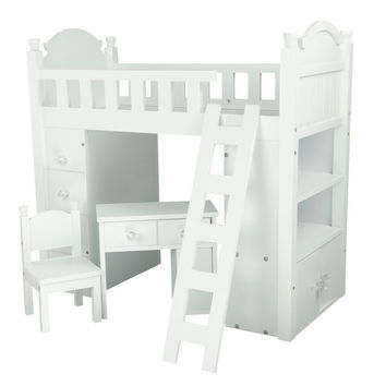 "Olivia's Little World - My Sweet Girl 18"" Doll Bunk Bed"