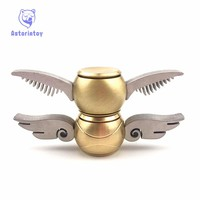 1PCS Fidget Spinner Hand spinner Harry Potter Fans New Fidget Toy EDC ADHD Anti-Stress Copper New Designs Decompression Toy
