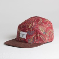 The Alizarin Paisley Five Panel