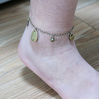 Anklet, Bracelet, Antiqued Bronze Anklet, Copper Chain, Love  Anklet Summer Trending Accessories, Personalized Jewelries