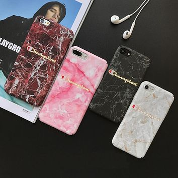 Marble iPhone Hard Case
