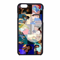 Disney Princess And Prince Character iPhone 6 Case