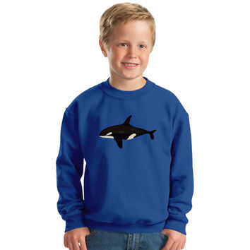 Killer Whale Kids Sweatshirt