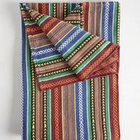 Peace and Vibrance Blanket by Karma Living from ModCloth