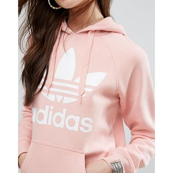 Adidas Fashion Casual Print Women's Long Sleeve Hoodies Sweater