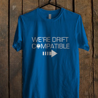 We re Drift Compatible Blue Mens T Shirt **