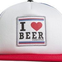 VONZIPPER I HEART BEER HAT