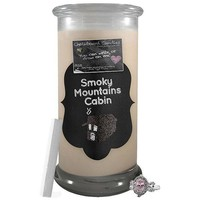 Smoky Mountains Cabin | Chalkboard Candle