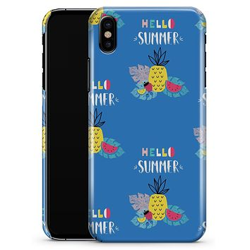 Hello Summer Love v1 - iPhone X Clipit Case