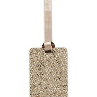Glitter Luggage Tag