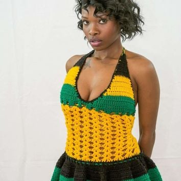 Jamaican flare baby doll dress  All color and sizes