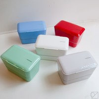 Takenaka Double Decker Bento Box