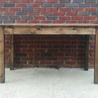 Table  Farm House Style Hand crafted Use for  Office,Teacher, Home,or Work Table  Limited Time with shipping included