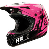 Fox Racing V1 Vandal Helmet 2015 Medium Pink