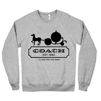 Pumpkin Coach Pullover Sweater — Cakeworthy