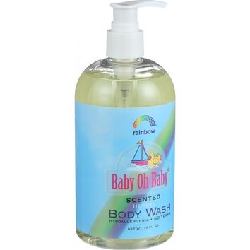 Baby Oh Baby Herbal Body Wash Scented ( 2 - 16 FZ)