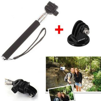 2 Sets Gopro Accessories Handheld Aluminum Alloy Flexible Carmera Tripod Holder for Phone GoPro HD Hero1 2 3 SJ4000