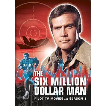 The Six Million Dollar Man poster Metal Sign Wall Art 8in x 12in