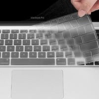 UPPERCASE Ultra Thin Clear Soft TPU Keyboard Cover Skin for Macbook Air 13 13.3 Inch:Amazon:Computers & Accessories