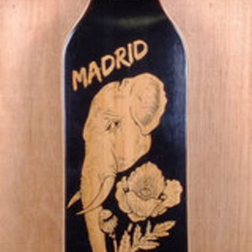 "Madrid 38"" Elephant Missionary Bamboo Top Mount Longboard Complete"