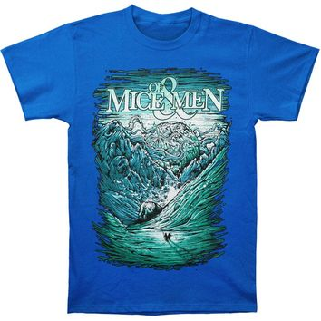 Of Mice & Men Men's  Ice Age T-shirt Blue Rockabilia