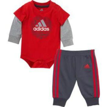 adidas Infant Boys' Don't Blink Bodysuit Set| DICK'S Sporting Goods