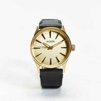 Nixon Sentry 38 Watch- Gold One