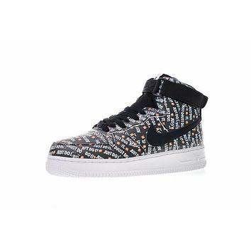 Just do it Nike Air Force 1 High LX Just do it LOGO Sneaker AO5138-001