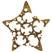 Kenneth Lane Brooch, K.J.L., Large Star, Starfish, Signed, Rare, Collectible, Pin, Early 1960s