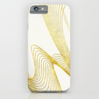 Gold Elegant -Pure- iPhone & iPod Case by LEMAT WORKS